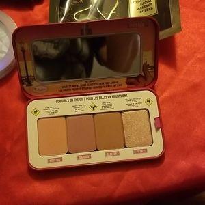 Makeup - Bucket of makeup and skincare
